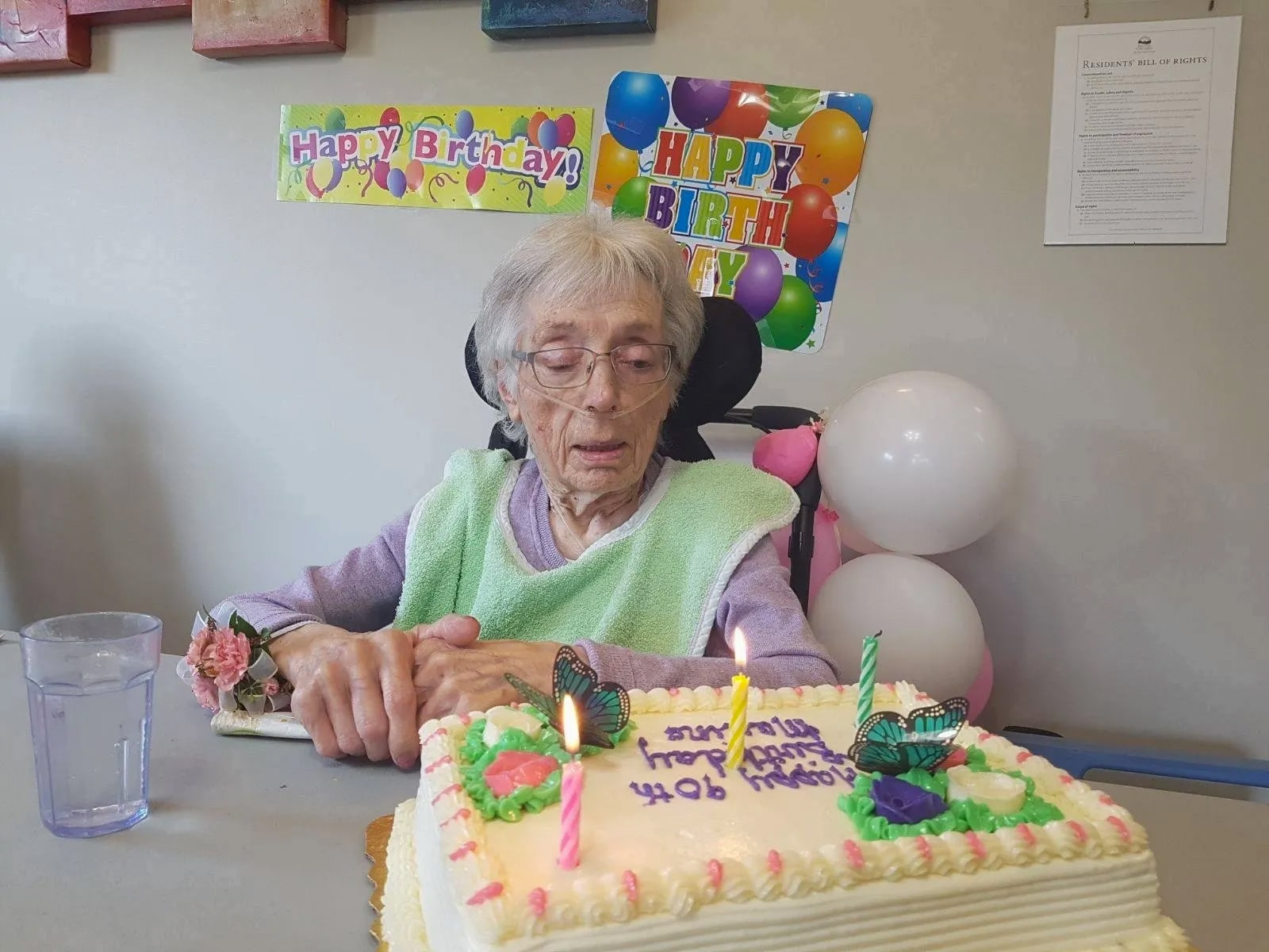 90th Birthday — Maxine