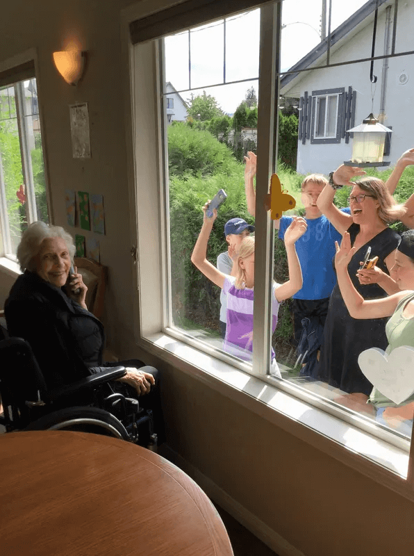COVID Window Visits