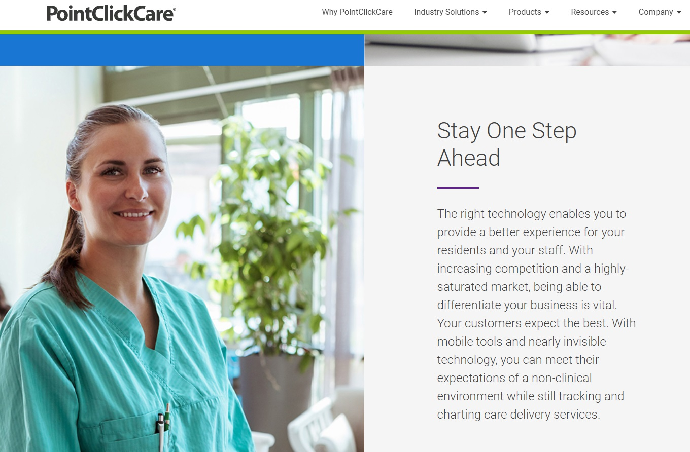 New Digital Charting – Point Click Care