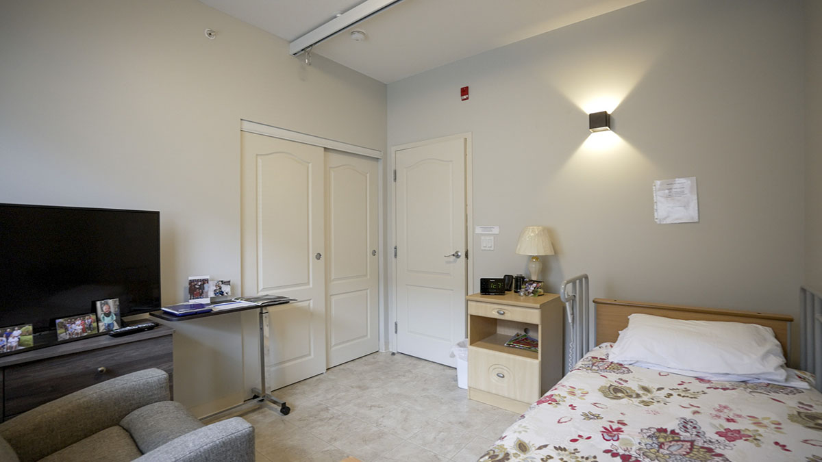 Typical resident room