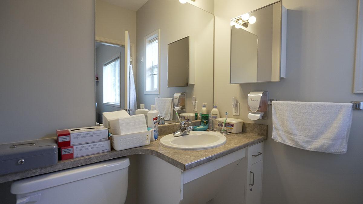 Resident private bathroom