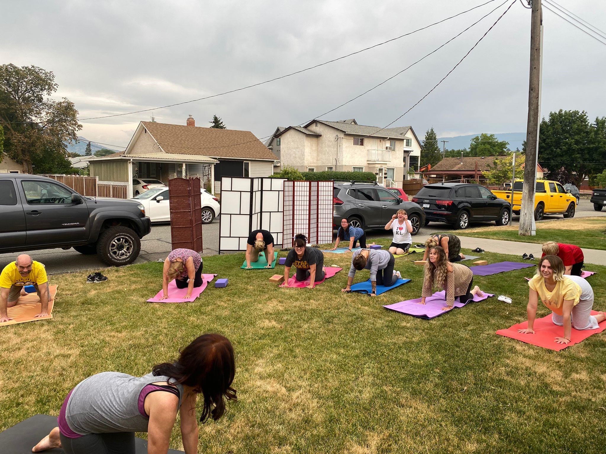 Staff Yoga Day